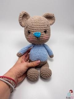 Ursulet crosetat-Colectia Baby El