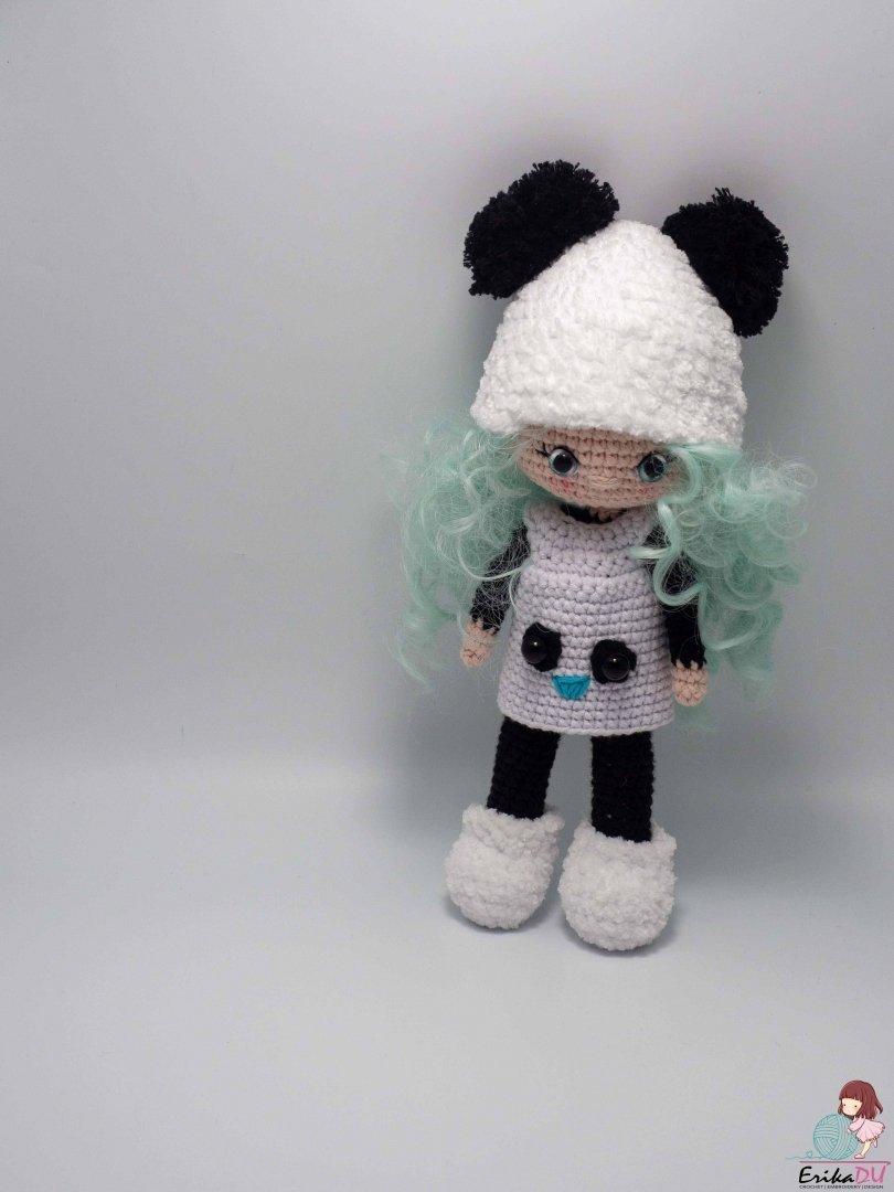 Papusa crosetata Panda