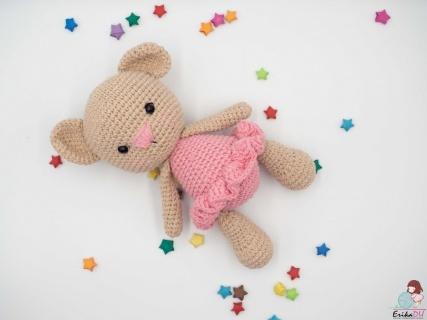 Ursulet crosetat-Baby Ea